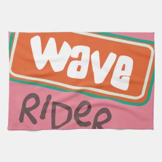 Wave Rider Kitchen Towels