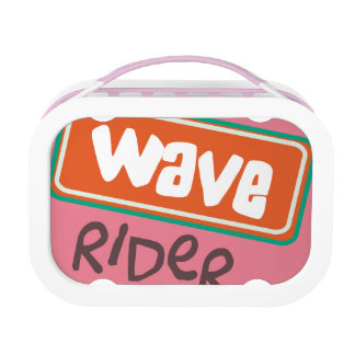 Wave Rider  Pink yubo Lunch Box Yubo Lunch Box
