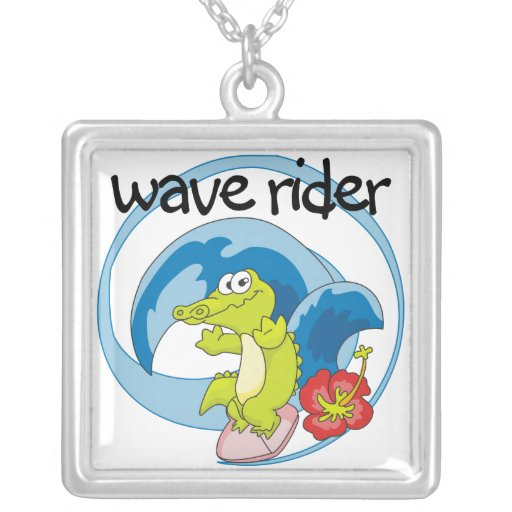 Wave Rider T shirts and Gifts Custom Jewelry