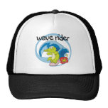 Wave Rider T shirts and Gifts Hat