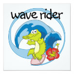 Wave Rider T shirts and Gifts Invite