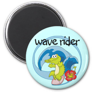 Wave Rider T shirts and Gifts Magnets
