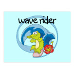 Wave Rider T shirts and Gifts Post Card