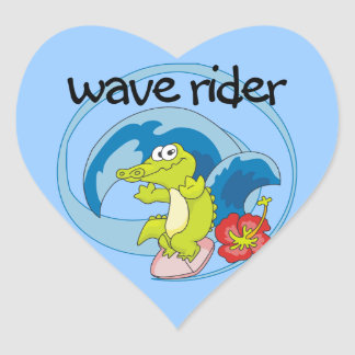 Wave Rider T shirts and Gifts Sticker