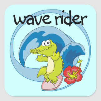 Wave Rider T shirts and Gifts Stickers