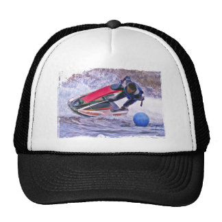 Wave Runner Around the Buoy Trucker Hat