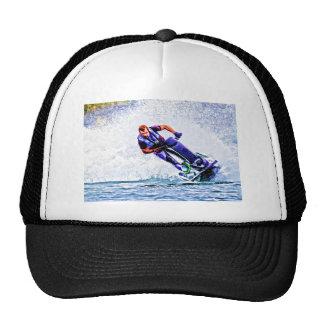 Wave Runner Spray Trucker Hat