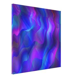 Wave Running Canvas Print