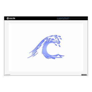 Wave Decal For Laptop