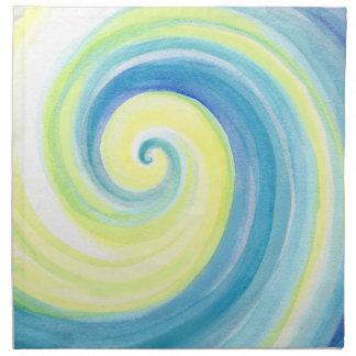 Wave, Spiral Shell Cloth Napkin