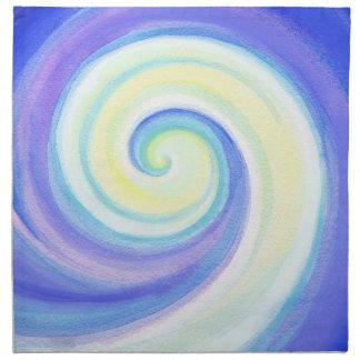 Wave, Spiral Shell Napkin