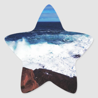 Wave Star Sticker