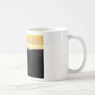 Wave & Sunset Horizon Classic White Coffee Mug