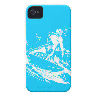 Wave Surfing iPhone 4/4S Case-Mate Barely There
