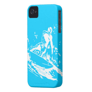Wave Surfing iPhone 4 ID Case-Mate