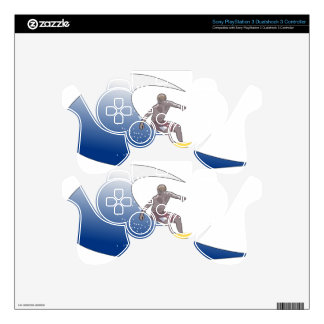 Wave Surfing Skin For PS3 Controller