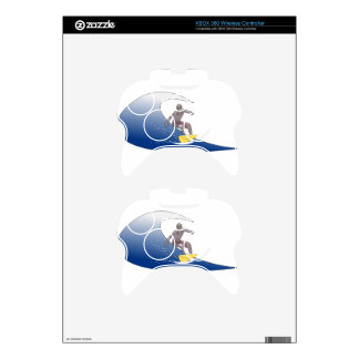 Wave Surfing Xbox 360 Controller Skins