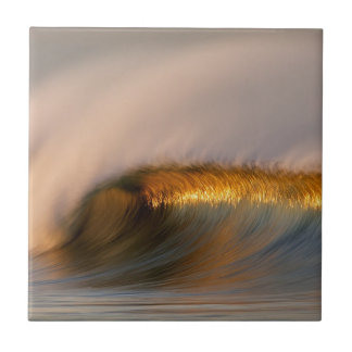 wave Suset  california Ceramic Tile