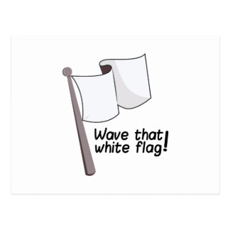 Wave That Flag Postcard