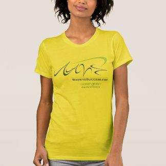Wave to Success - Ladies AA Reversible Sheer Top Tshirt