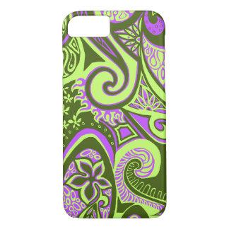 Wave Trip Vintage Psychedelic Floral Paisley iPhone 8/7 Case