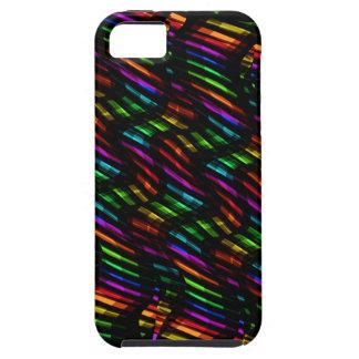 Wave Twists Hot Rainbow Gem Mosaic Artwork iPhone SE/5/5s Case