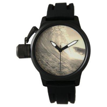 Beach Themed Wave Wrist Watch