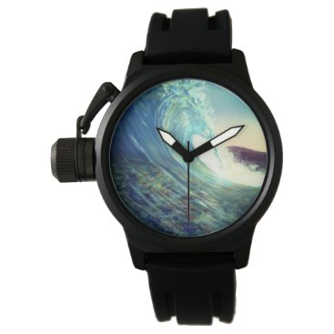Beach Themed Wave Wristwatch