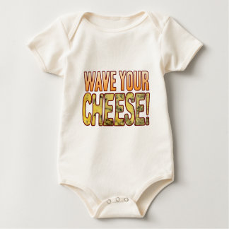 Wave Your Blue Cheese Baby Bodysuit