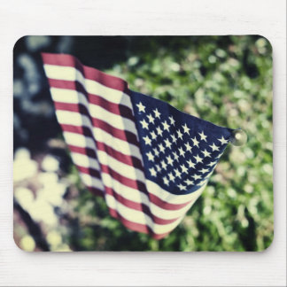 Wave your flag mouse pad