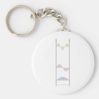 wavefunctions for the infinite well keychain