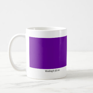 Wavelength 380 nm coffee mug