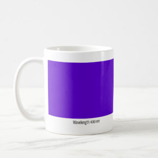 Wavelength 400 nm coffee mug