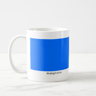 Wavelength 460 nm coffee mug