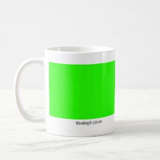 Wavelength 520 nm coffee mugs