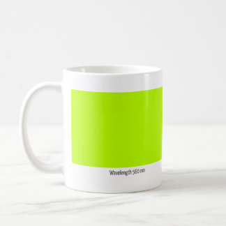 Wavelength 560 nm coffee mug