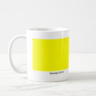 Wavelength 580 nm coffee mug