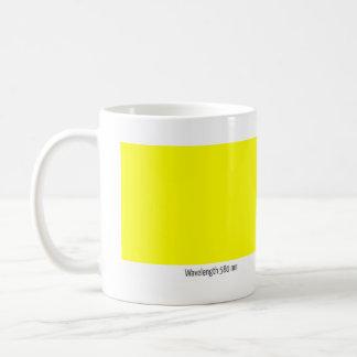 Wavelength 580 nm mug