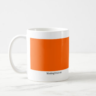 Wavelength 620 nm coffee mug