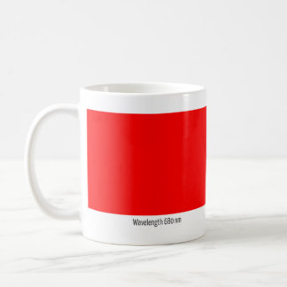 Wavelength 680 nm coffee mug