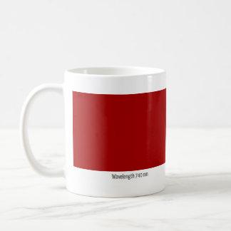 Wavelength 740 nm coffee mugs