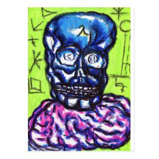 Wavelengths on the Brain Postcard