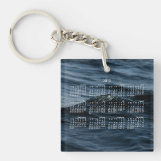 Wavelet; 2013 Calendar Keychain