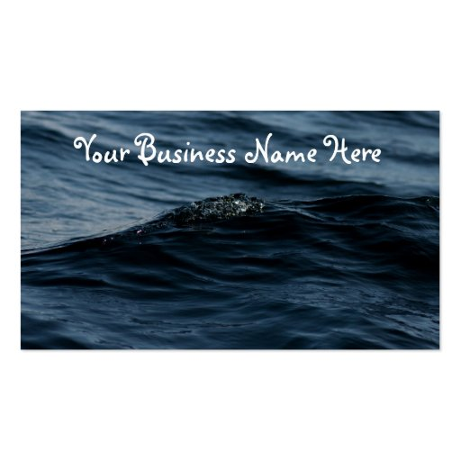 Wavelet Double-Sided Standard Business Cards (Pack Of 100)