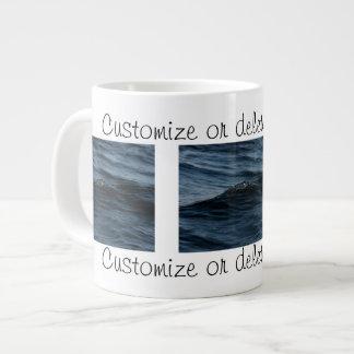 Wavelet; Customizable Giant Coffee Mug