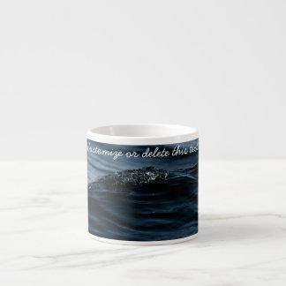 Wavelet; Customizable Espresso Cup