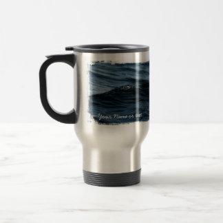 Wavelet; Customizable Travel Mug