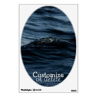 Wavelet; Customizable Wall Decal