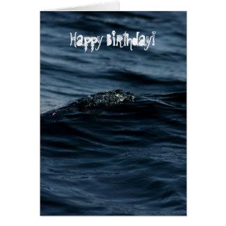 Wavelet; Happy Birthday Card