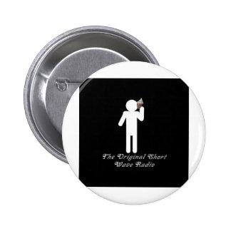 WaveRadio Pinback Button